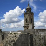Überreste der Alcazar mit Glockenturm