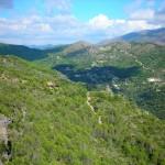 Ausblick über Sierra Crestellina