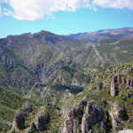 Blick auf die Sierra de Almijara