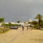 Sandwege in El Rocío