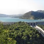 Blick auf Stausee Guadalteba